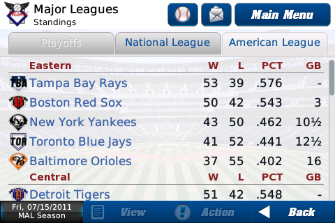 Iootp Baseball 2011 Out Of The Park Baseball For Iphone