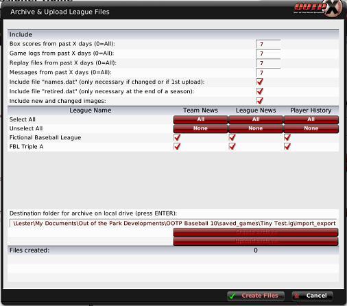 2 Person league via dropbox - OOTP Developments Forums
